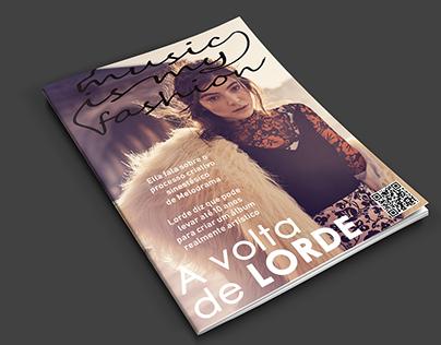 Capa de Revista