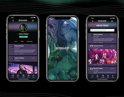 Bonnaroo App Design