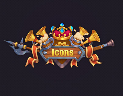 "Icons for the game ""The Age of the Musketeers"""