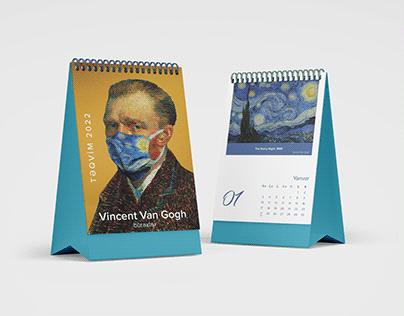 Təqvim 2022 / Vincent van Gogh buraxılışı
