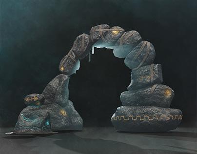 Carved Brink - Goblin Portal