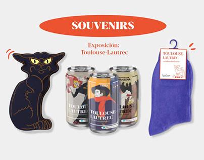 Souvenirs museo - Toulouse Lautrec
