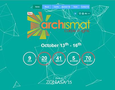 Website for Zonasa 2015