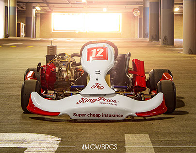 Kp kart rebranding shoot.