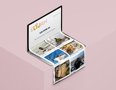 Elijah Cyrus: Logo & Website