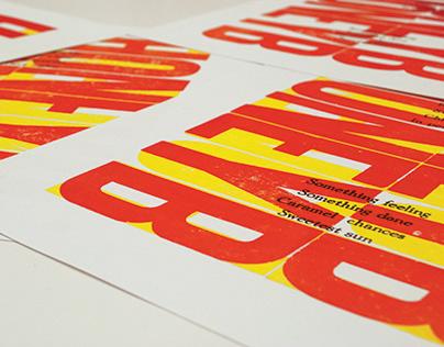Letterpress Work