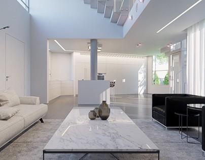 עיצוב בית פרטי באשדוד עם אלמנטים ייחודיים