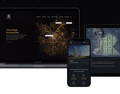 Business city   Web design