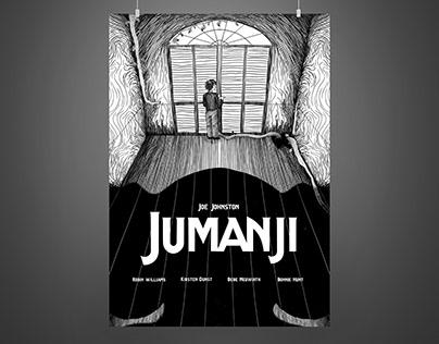 Projet étudiant - Affiche Jumanji