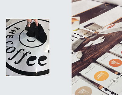 The Coffe Store | Diseño vidriera - window
