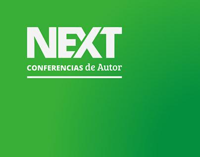 NEXT Conferencias de Autor