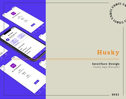 Husky App // Financial App by Husky.io (Concept)