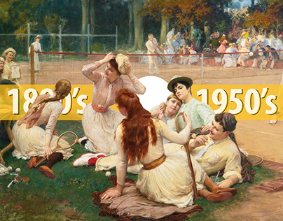 The Tennis Apparel, 1880's – 1950's