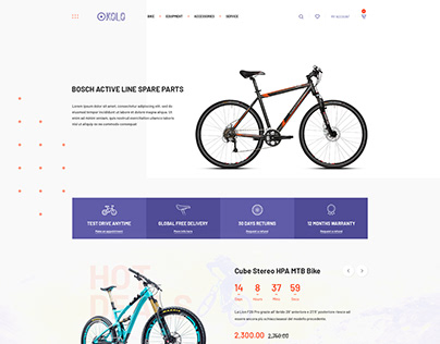Bike Shop - Designed for Hitron Theme