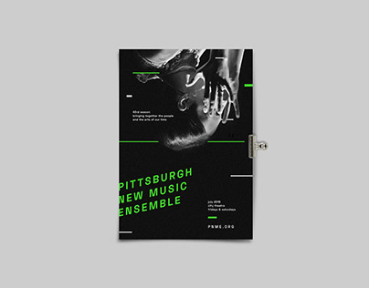 Pittsburgh New Music Ensemble's 43rd Season Program