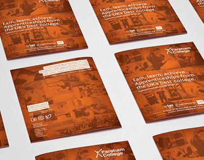 Fareham College- Apprenticeship Brochure