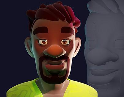 Cool Guy 3D #Character Art