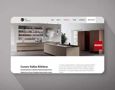Website for Furniture Showroom