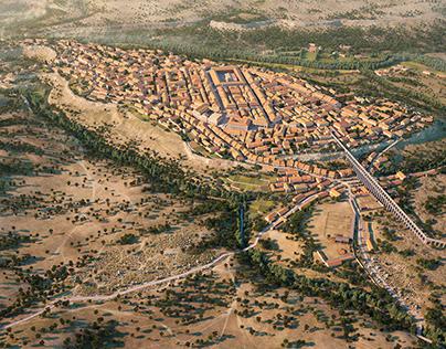 Roman city of Segovia IIcentury C.E.