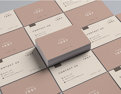 Corporate Brand Identity Elements: Cards