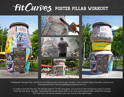 Poster Pillar Workout