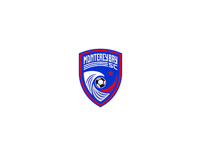 Monterey Bay Soccer Club Branding Design (Client Work)