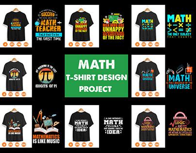 Math T-Shirt Design Project
