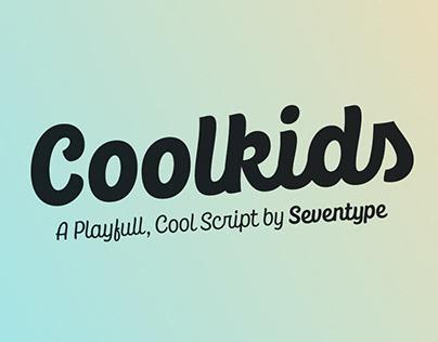 CoolKids Script Typeface