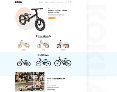 KOKUA BIKES web design