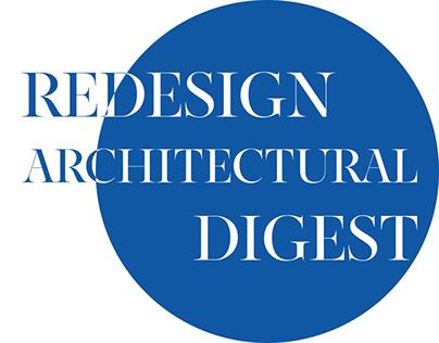 News portal: Architectural Digest magazine