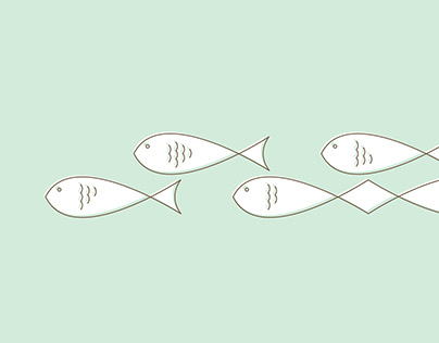 Green Sea Illustration and Desktop Wallpaper