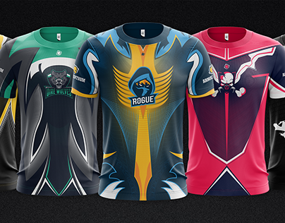 eSports Jersey Concepts