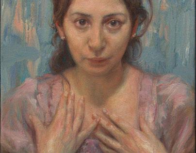 Parito. Oil/Alkyd on canvas, 89 x 35 cm.