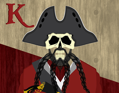 Blackbeard's Revenge - Playing Cards