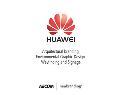 Architectural Branding for Huawei