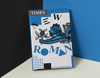 Times New Roman Type Book