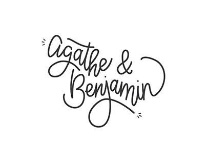 Faire-part Agathe & Ben