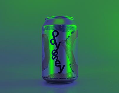 Brand Creation 'odyssey' Craft Beer