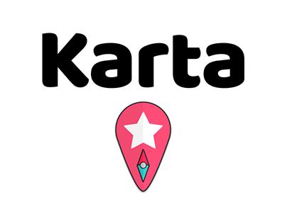 Karta App Branding and Concept Design