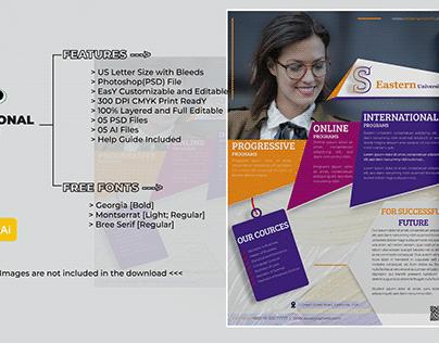 Academic / Educational Flyer Design Template