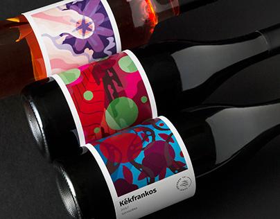 Ifj. Márkvárt János | wine label family & logo