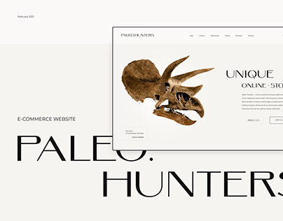 PALEO HUNTERS | E-commerce website