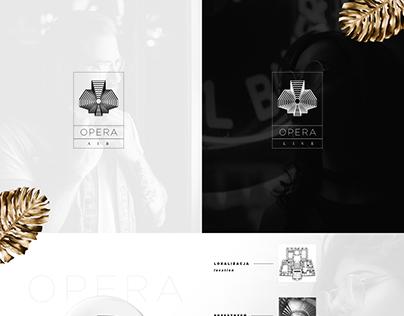 Opera Club | Rebranding, Web Design, DTP