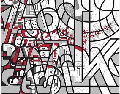 Type Is Deviant - Typography Art