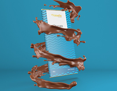 Naturia Chocolate and Ice cream Packaging