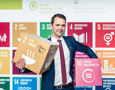"""""""2030-Nachhaltigkeitsagenda umsetzen. Ich bin dabei."""""""