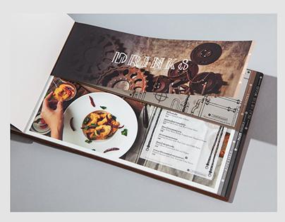 Menu Design for ATMOS.