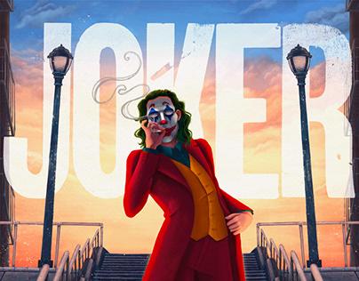 Joker Poster Illustration