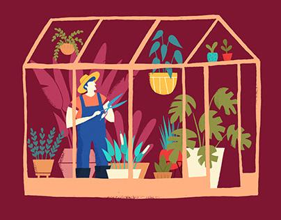 Greenhouse Albert Pinilla