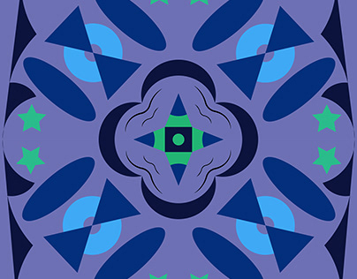 Kaleidoscopic Illustrator Design